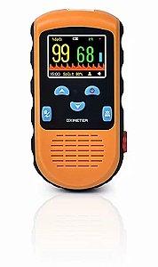 Oxímetro de Pulso PC66B c/ Sensor Adulto e Sensor Pediátrico