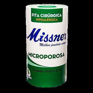 Fita Microporosa Branca 10cm x 4,5m Missner