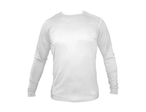 Camiseta Skin Manga Longa H.Sun Unissex Branca Tam.:G Famara