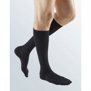 Meia Compressiva For Men Supreme Panturrilha 15-20 Preto