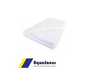 Forração Orto Lençol Plástico C/ Elástico Solteiro Aquasonus