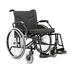 Cadeira De Rodas Big 60 Preta Jaguaribe