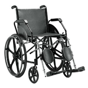 Cadeira De Rodas 1016 45 Courvin Preta Jaguaribe