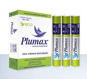 Lencol Hosp Plumax Eco 50Cm X 50M (Verde 50)