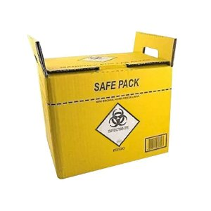 Coletor Material Perfuro Cortante Safe Pack