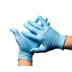 Luva Nitrilo Unigloves Blue P Caixa 100 Unidades