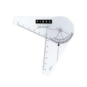 Goniômetro Pequeno 7cm Fibra Cirúrgica