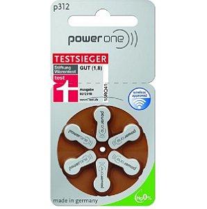 Bateria Para Aparelho Auditivo + 312 power one
