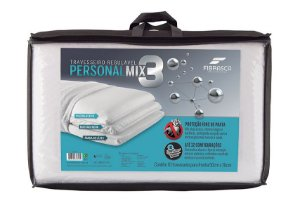 Travesseiro No Allergy Personal Mix 3 Fibrasca