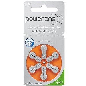 Bateria para Aparelho Auditivo P13 Mercury Free Power One