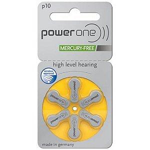 Bateria para Aparelho Auditivo P10 Mercury Free Power One
