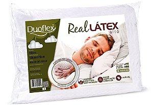 Travesseiro Real Látex Alto Duoflex