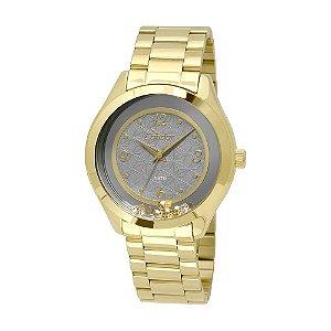 Relógio Condor Feminino Analógico Dourado CO2036KSS4C