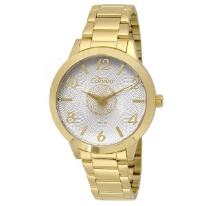 Relógio Condor Feminino Analógico Dourado CO2036KOU/4K