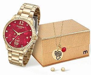Relógio Feminino Mondaine Zodíacos -Áries + Conjunto