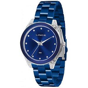 Relógio Lince Feminino Analógico Azul LRA4431PD1DX
