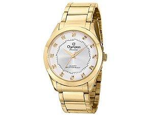 Relógio Champion Feminino Analógico Dourado CH24759H