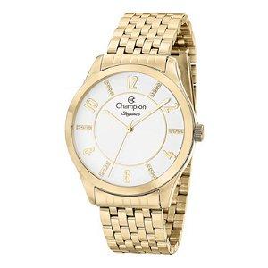 Relógio Champion Elegance Feminino Dourado CN27698H