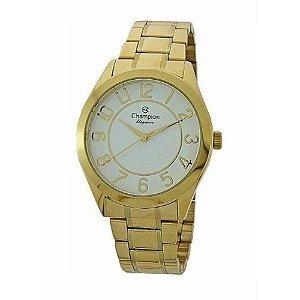Relógio Champion Feminino Analógico Dourado CN25127H