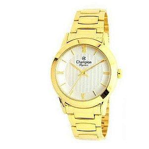 Relógio Champion Feminino Analógico Dourado CN25485H