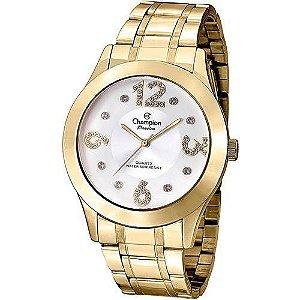 Relógio Champion Feminino Analógico Dourado CN29178H