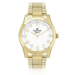 Relógio Champion Feminino Analógico Dourado Cn26902h