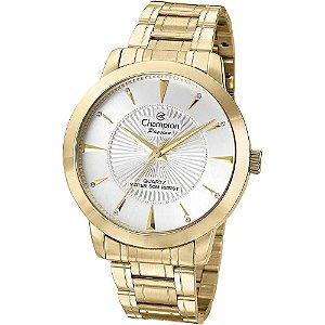 Relógio Champion Feminino Analógico Dourado CN29258H