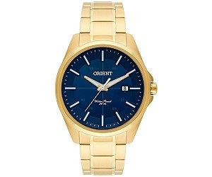 Relógio Orient Masculino Analógico Dourado MGSS1128 D1KX