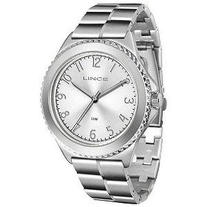 Relógio Lince Feminino Analógico Prateado LRM4429LS2SX