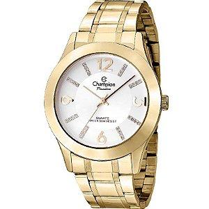 Relógio Champion Feminino Analógico Dourado CN28713H