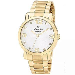 Relógio Champion Feminino Analógico Dourado CN26279H