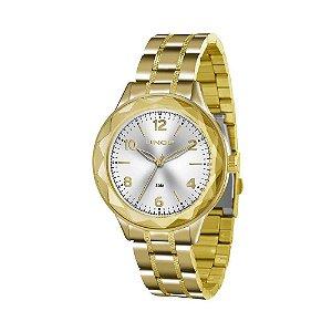 Relógio Lince Feminino Analógico Dourado LRG4344LS2KX