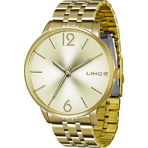 Relógio Lince Feminino Analógico Dourado LRG605LC2KX
