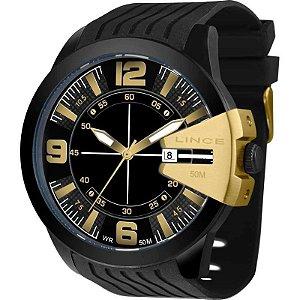 Relógio Lince Masculino Multifunção Preto MRP4403SP2PX