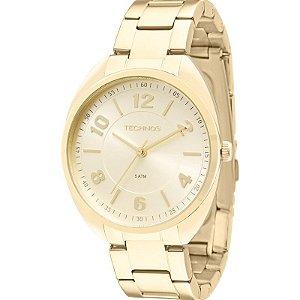 Relógio Technos Feminino Analógico Dourado 2035MCF/4X