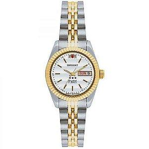 Relógio Orient Feminino Automático Prata 559EB3XB1SX