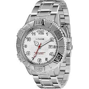 Relógio Lince Masculino Analógico Prata MRM4334LB2SX