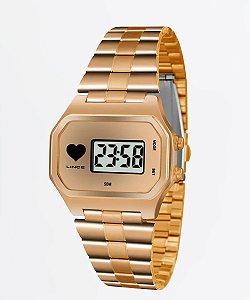 Relógio Lince Feminino Digital Rosé SDR4480LBRRX