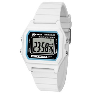 Relógio X-Games Feminino Digital Branco XLPPD028BXBX
