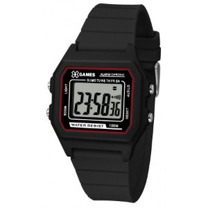 Relógio X-Games Masculino Digital Preta XGPPD109BXPX