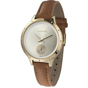 Relógio Lince Feminino Analógico Couro LRC4529LC1MX
