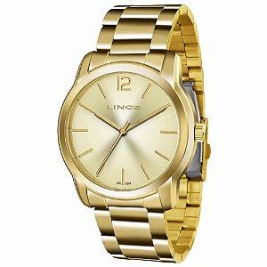 Relógio Lince Feminino Analógico Dourado LRG4447LC2KX