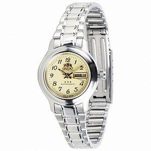 Relógio Orient Feminino Automático Prata 559WA6XC2SX