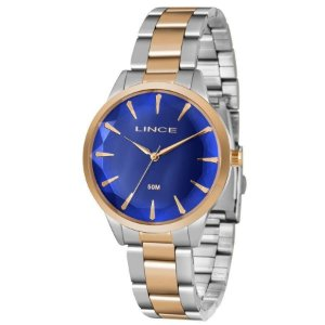 Relógio Lince Feminino Analógico Bicolor LRT4563LD1SR