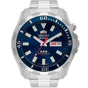 Relógio Orient Masculino Automático Prata 469SS078D1SX