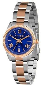 Relógio Lince Feminino Analógico Bicolor LRT4492LD3SR