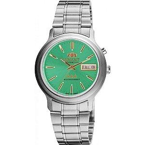 Relógio Orient Masculino Automático Prata 469WA1AE1SX