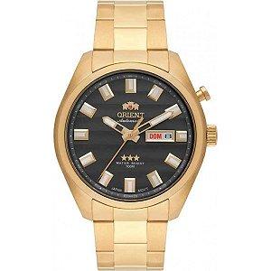 Relógio Orient Masculino Automático Dourado 469GP076G1KX