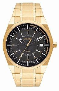 Relógio Orient Masculino Analógico Dourado MGSS1144G1KX