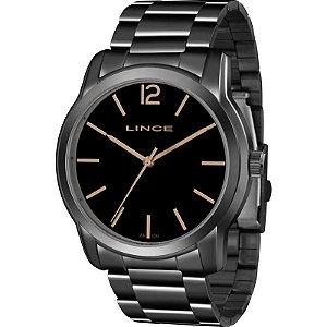 Relógio Lince Feminino Analógico Preto LRY4449LG2GX